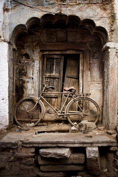 door in ruins
