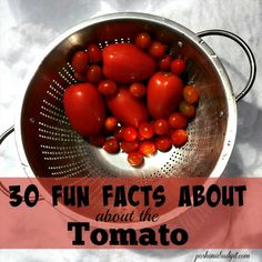 Who knew? Great facts!