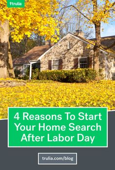 4 Ways The Real Estate Market Changes After Labor Day