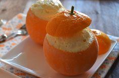 Sorbete de naranja   Cuchillito y Tenedor