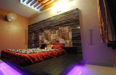 Master Bedroom Floating Cot Design Residential Interior Designs - Cot designs for bedroom