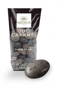 Dragées Médicis : Duo caramel à la fleur de sel et nougatine pour garnir votre candy bar. http://www.drageeparadise.fr/dragees-_25_dragees-nouvelles-saveurs-medicis_duo-caramel-fleur-de-sel__a114_1.html