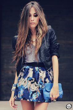 FashionCoolture - 06.12.2013 look du jour GrifeOn Romwe skirt blue jacket blogger Kafé (2)