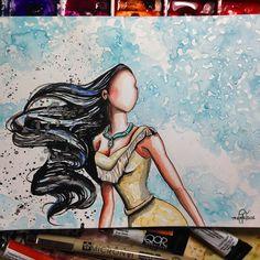Pocahontas | Fan Art | triciakibler's photo on Instagram