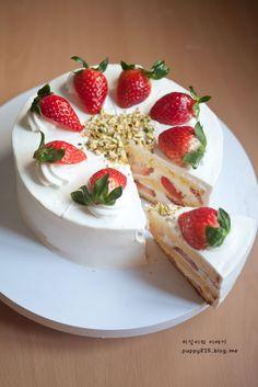 Gâteau aux fraisis