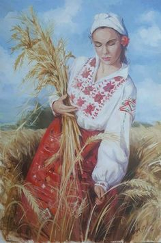 Ukrainian Art, Art Costume, Art Icon, Character Portraits, Advertising Poster, Beautiful Paintings, Body Painting, Art History, Folk Art