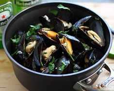 Beer Steamed Mussels Recipe | Easy Asian Recipes at RasaMalaysia.com