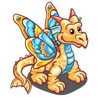 Farmville Butterfly Dragon