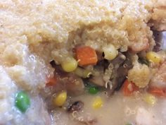 Quinoa Chicken Pot Pie - I'm in love with this.   It may be a weekly meal.