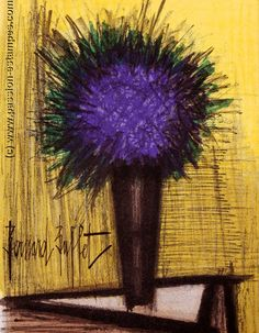 Lithograph of 1967 : The purple bouquet ...