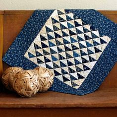 Petit Birds in the Air by PetitQuilts on Etsy; Annette Plog's work is gorgeous