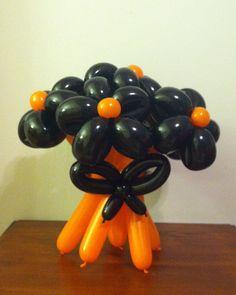halloween balloons with a twist - Halloween Balloon Animals