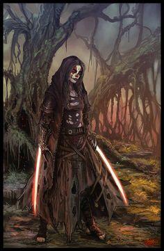 Sith Assassin /by ?? #StarWars #art