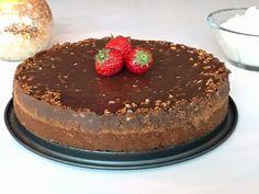 Glutenfri schweizernötkaka Fika, Gluten Free Recipes, Free Food, Tiramisu, Cheesecake, Chocolate, Ethnic Recipes, Desserts, Lchf