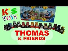 Thomas & Friends Puzzle Pt. 2 | Toddler Solving a 16 Piece Puzzle | Surprise Toys | K's Toys