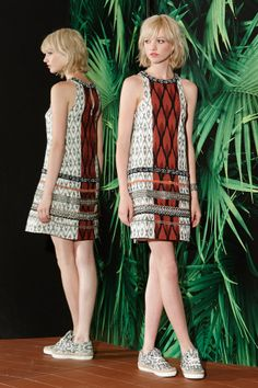 Nicole Miller, pre-spring/summer 2015 fashion collection
