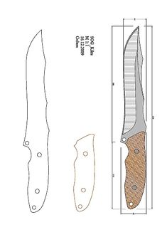 Cool Knives, Knives And Swords, Knife Shapes, Knife Template, Mobile Workbench, Knife Patterns, Diy Knife, Plumbing Tools, Knife Sheath