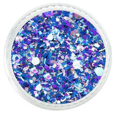 Blue Chilean Sky Custom Mixed Glitter – Solvent Resistant Glitter from Glitties Nail Art Online Store Glitter Rocks, Blue Glitter, Glitter Nails, Cosmetic Grade Glitter, Art Online, Holographic, Glitters, Pretty Nails, Art Ideas