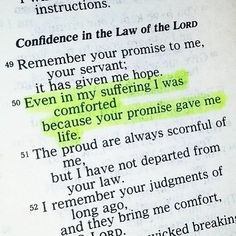 Psalm Your promise gave me life Prayer Scriptures, Prayer Quotes, Bible Verses Quotes, Faith Quotes, Spiritual Quotes, Worship Scripture, Godly Quotes, Spiritual Life, Quotes Quotes