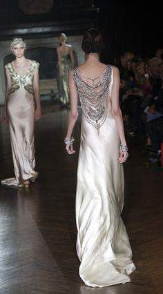 Silk Wedding Dresses with unique embellishments