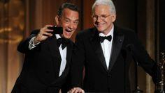 Il selfie di Tom Hanks