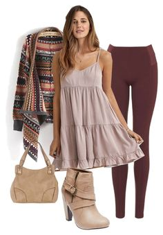 """Blending summer into autumn"" by ursula-baby on Polyvore featuring Rare London, American Eagle Outfitters and Wet Seal"