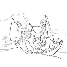 Jesus Calms The Storm By Kenny Boy On DeviantART