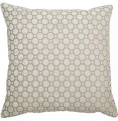 Vapor Pearl Throw Pillow