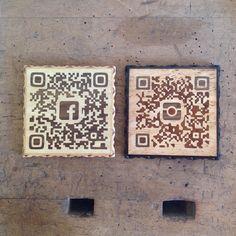 "wooden ""QR code""  #zouganista #firenze #florence #sanfrediano #italia #italy #oltrarno #intarsio #inlay #職人 #artisan #artigianato #craftmanship #legno #wood #象嵌 #arredamento #インテリア #madeinitaly #qrcode"