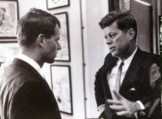 RFK & JFK at the White House