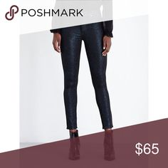 PAIGE Hoxton Ankle Cobalt Shimmer Jeans Brand new with tags! Size 30. More details coming soon! Less lenient to lowball offers with this particular item. (0015-0000) PAIGE Jeans Ankle & Cropped