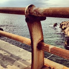 #sea #rust #rusty #marseille #instagram