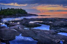 Artist's Point, Grand Marais Minnesota - photo location for family pics