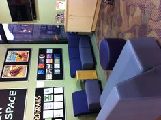 The library Teen Space, ready for another day ~