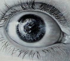 Photorealistic Paintings Of Eyes By Veri Apriyatno