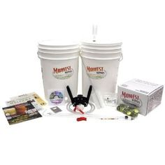 Beginner's Brewing Kit w/ Irish Red Ale by Midwest Homebrewing and Winemaking Supplies. $146.04. Desc