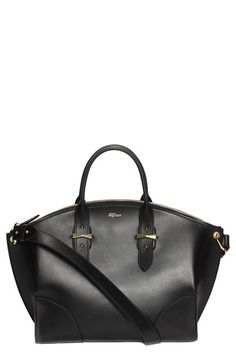 Alexander McQueen 'Legend' Leather Shopper available at #Nordstrom