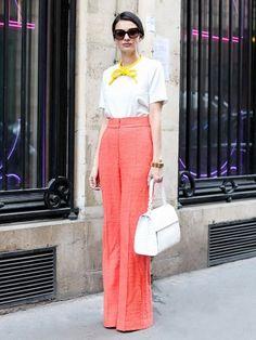 Street+Style+Crush:+Leila+Yavari+via+@WhoWhatWear