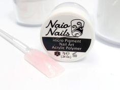 Barely There Pink Acrylic Powder 7g - Naio Nails