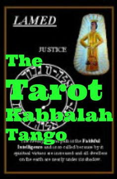 THE #TAROT #KABBALAH TANGO - these 2 metaphysical schools of thought may actually be inter related ... to find out more, please visit our talking blog x