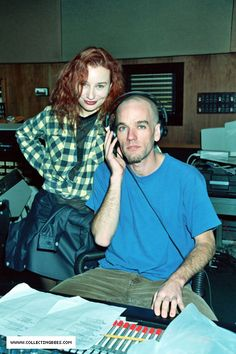 Tori Amos and Michael Stipe. If only they'd release the sounds from that session....