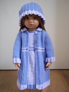 Pretty Little Miss pdf doll clothes