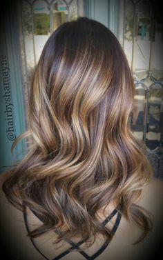 Balayage highlights.. Love this color I did today. Schwartzkopf 5-6 and Blonde me 9+ 30vol & Olaplex. Toned with Shades EQ 9N.
