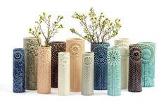 Danish/Icelandic Finnsdottir vases from the Pipanella series.