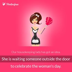 #8thmarch #8march #porterfree #travel #pink #housekeeper #womensday #women