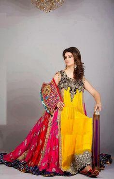 Long Mehndi Maxi Dress