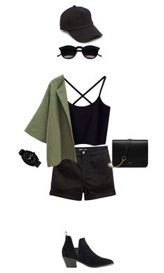 """""""Untitled #68"""" by nanaddd ❤ liked on Polyvore featuring H&M, rag & bone, Chicnova Fashion, Nixon, Sigerson Morrison and Mulberry"""