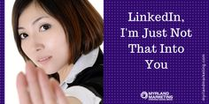 """Lawyers, Is LinkedIn A Waste Of Your Time?: LinkedIn has moved beyond the """"I'm just not that into you"""" phase of social media marketing for lawyers. It is a must and for good reason. You no longer have the luxury of deciding whether this is a tool you should spend time getting to know. For several reasons, the answer is, and always has been, yes. LinkedIn has moved beyond the """"I'm not really into you"""" phase of social media marketing for lawyers. It is a must and for good reason. Search…"""