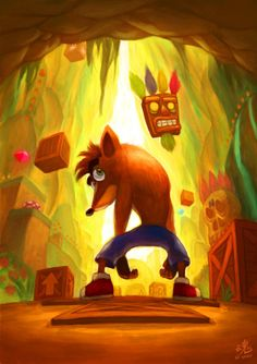 Crash Bandicoot - used to love this!