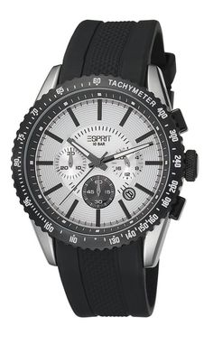 dfaed1409ee7 ESPRIT Male Calibre Watch ES104031001 Black Analog Sale price.  77.95